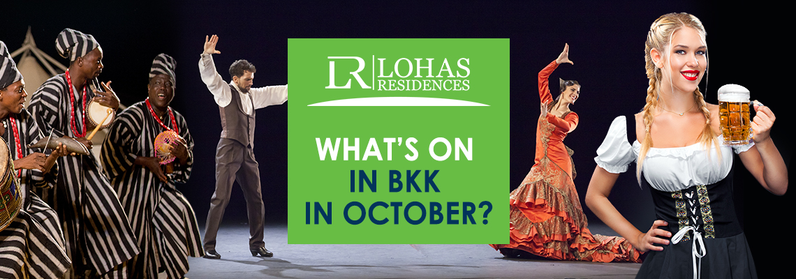 What's On in BKK in October?