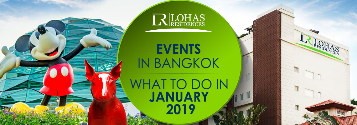 Events in Bangkok – what to do in January 2019