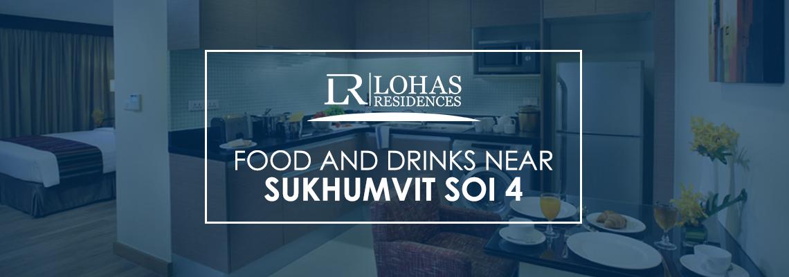 Food and Drinks Near Sukhumvit Soi 4