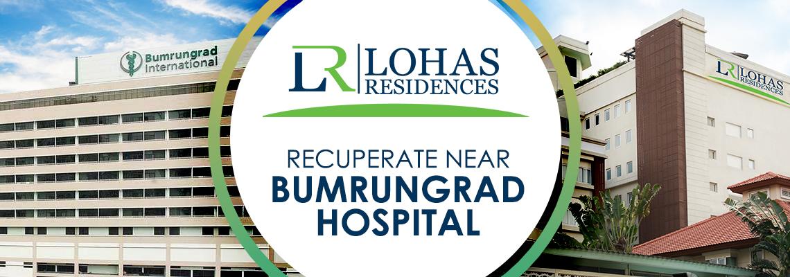Recuperate near Bumrungrad hospital