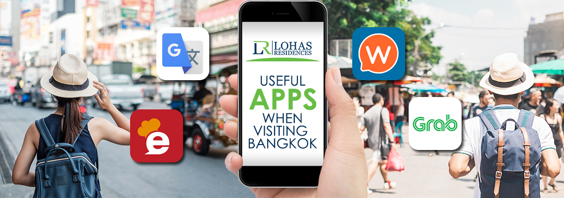 Useful apps when visiting Bangkok