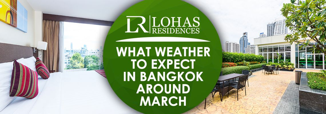 What weather to expect in Bangkok around March